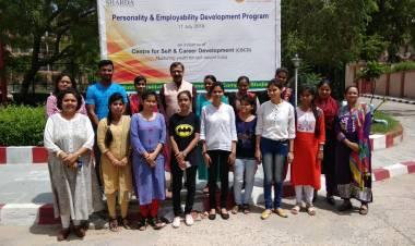 Valedictory Function of Personality & Employability Development program @ HIMCS
