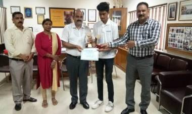 Student of HCST won State Lawn Tennis Under- 18 Tournament @ HCST