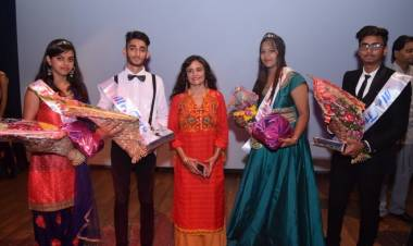 Fresher Party 2018 celebrations at Anand College of Pharmacy