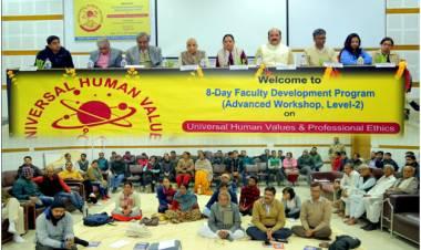Level -2 FDP on 'Universal Human Values & Professional Ethics' @ HCST