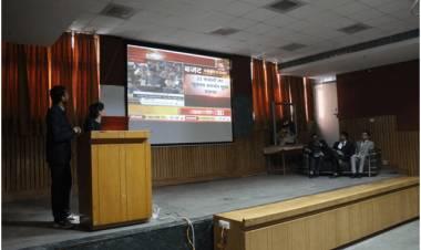 "One Day Workshop on ""Budget Par Charcha"" @ AEC"