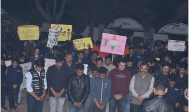 SGI- Candle March at AEC to pay tribute to the Martyrs