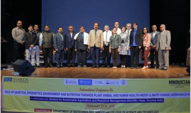SGI- Inauguration of International Conference on GEENPAHH- 2019 @ HCST
