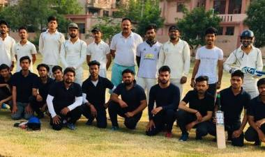 Inauguration of T-20 Cricket Tournament at Hindustan Campus