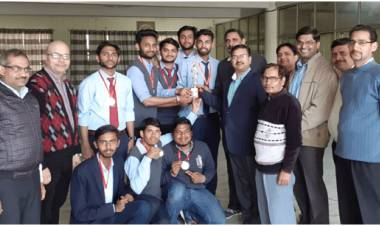 """Student of Anand College won Medals in National Sports Fest """"Kshitiz19"""""""