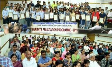 Parents Felicitation Programme- 2019 @ HCST
