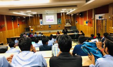 "Guest lecture on ""GRE and TOEFL: Opportunities Abroad""  at Anand College of Pharmacy"