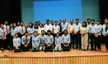Guest Lecture organised on Various Management profiles for business graduates by BBA Department