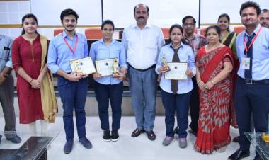 Turncoat Competition organised at Hindustan Campus