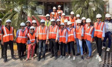 Industrial visit to ACC Cement Ltd., Goa