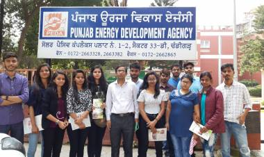 Industrial Visit to Punjab Energy Development Agency