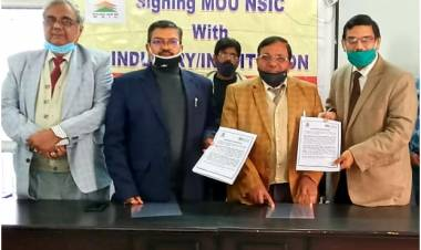 Anand Engineering College signed MOU with NSIC