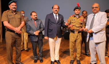 NCC Cadets of Hindustan College were awarded