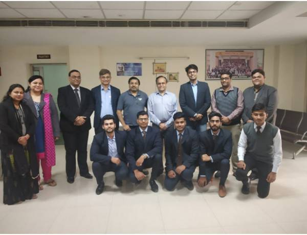 Sharda Group students placed in Prism Johnson