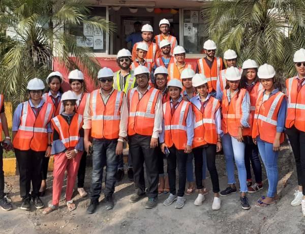 Industrial visit to ACC Cement Ltd., Goa