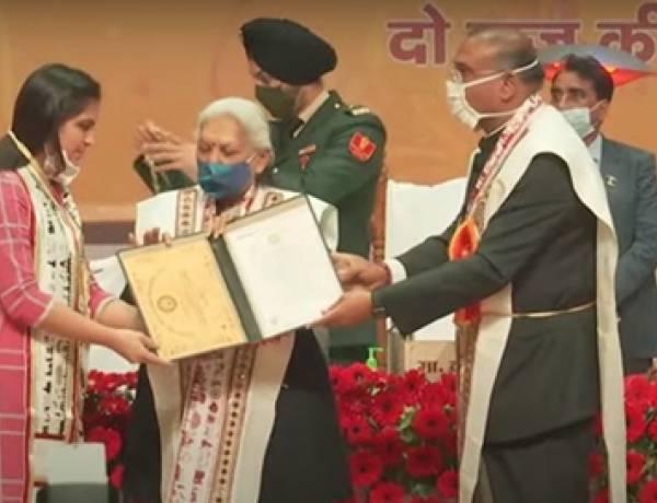 Students of Hindustan College Received Medals in AKTU Convocation