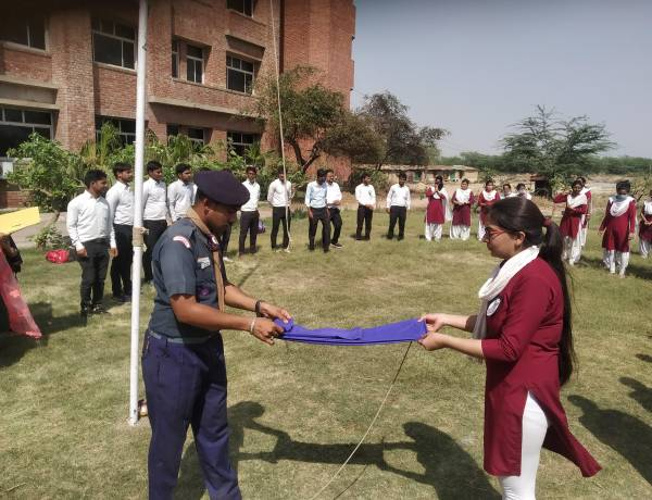 Valedictory Function of Scout Guide Camp