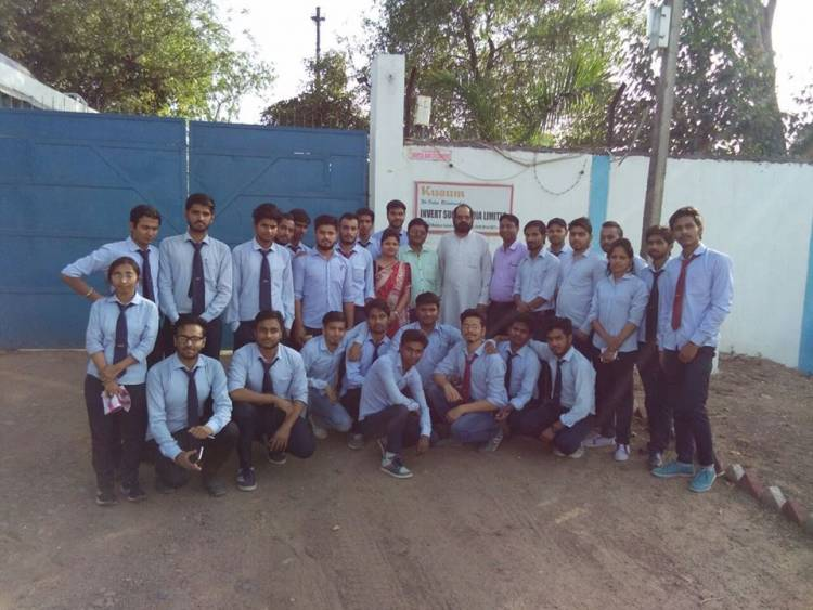 SGI students visited Invert sugar India Private Limited at Malanpur #Gwalior