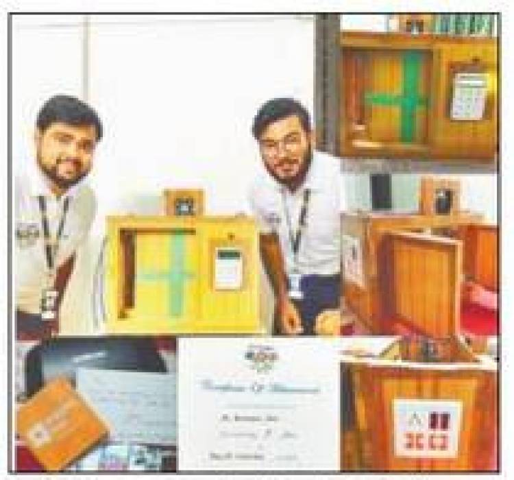 Smart Home Technology developed by alumni of Hindustan college in TCS