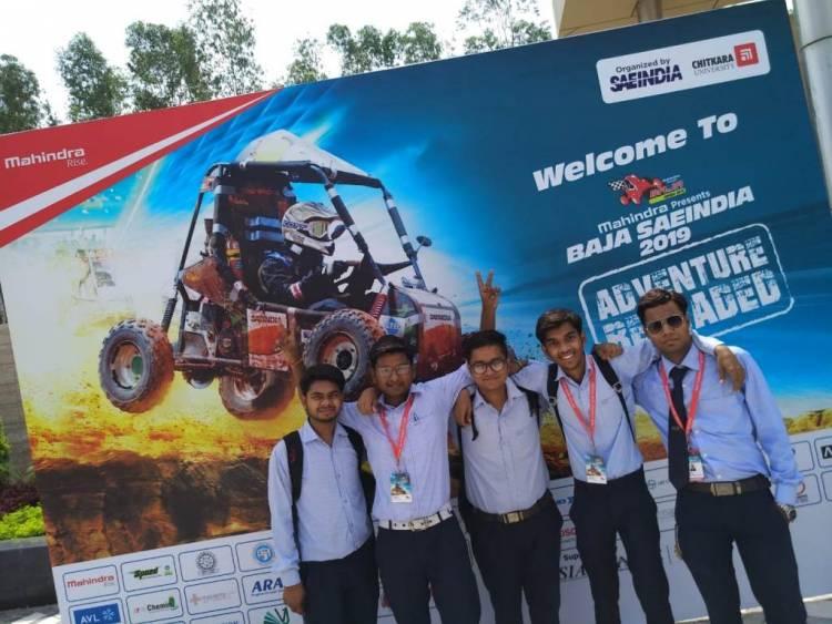 Student of HCST participate in E-BAJA SAEINDIA