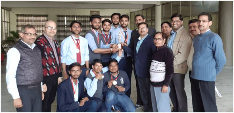 "Student of Anand College won Medals in National Sports Fest ""Kshitiz19"""
