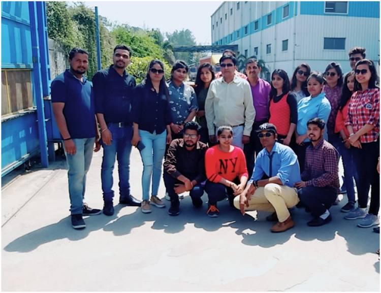 Industrial visit to Elite Electronics Co. Ltd.