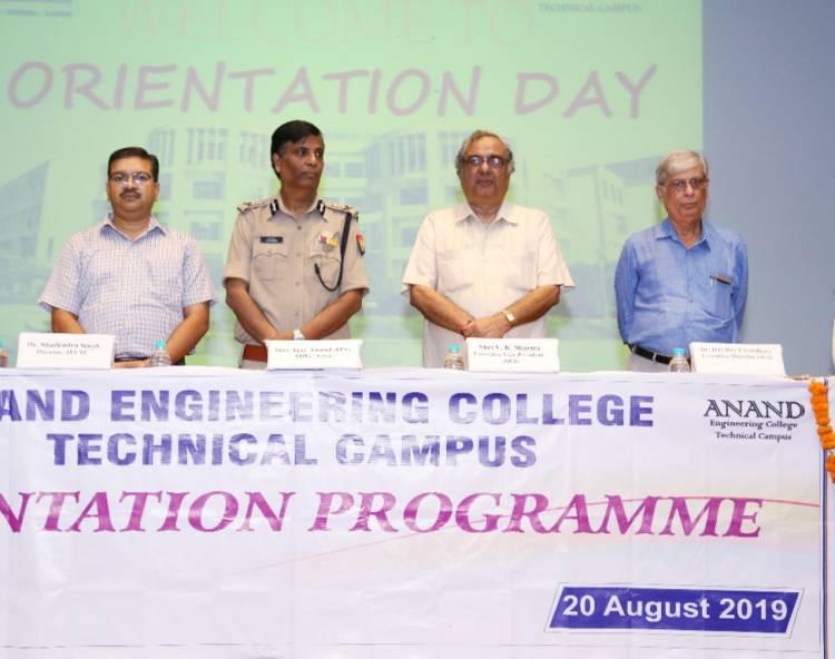 Orientation Programme - 2019 @ AEC