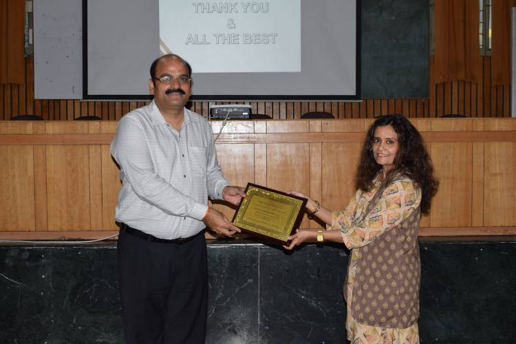 Guest lecture at Anand College of Pharmacy as a part of Induction Program for new entrants