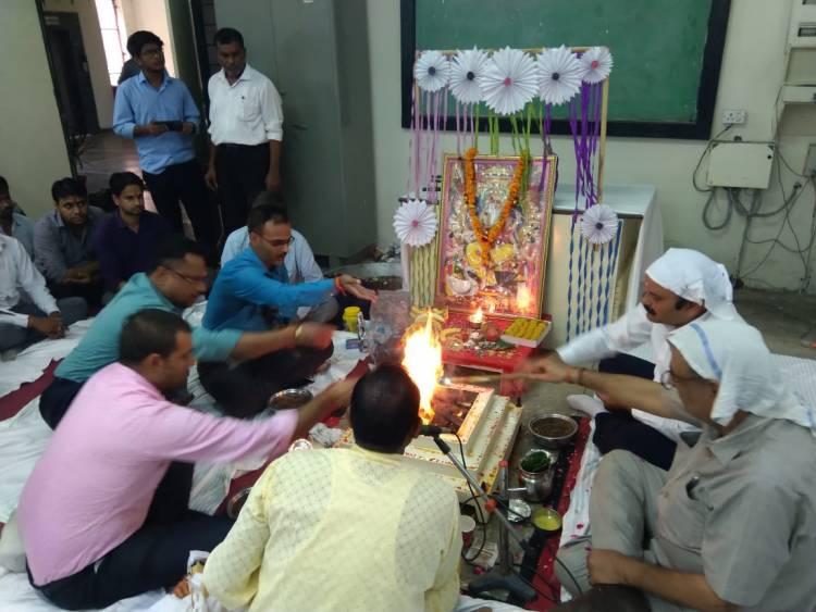 Vishwakarma Pooja in Mechanical Deptt. Hindi News-2019