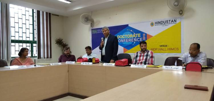 Valedictory of Doctoral Conference-2019