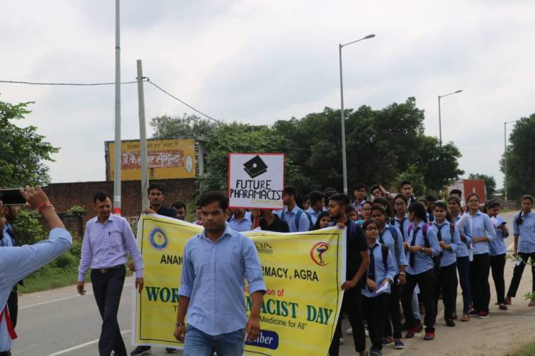WORLD PHARMACISTS DAY (25th September) Celebrations of 3 days in Anand College of Pharmacy