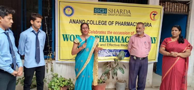 Medical Awareness in Schools of Agra by Anand College of Pharmacy Students as a part of World Pharmacist Day