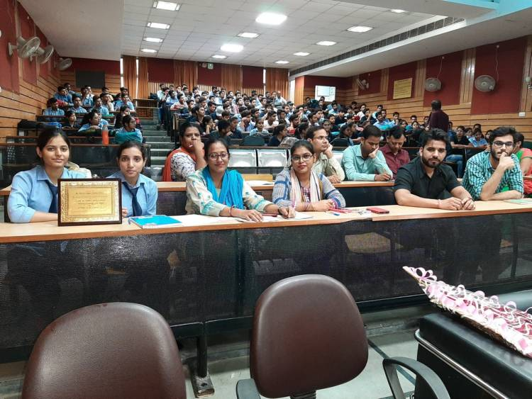 Guest lecture at Anand College of Pharmacy as a part of IIC Innovation cell