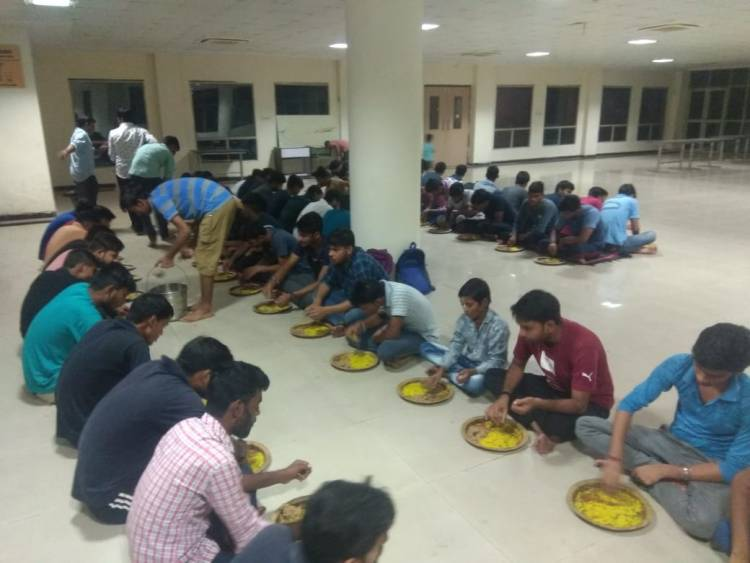 Spiritual - Cultural activity Organised at Anand Engg. College for Students