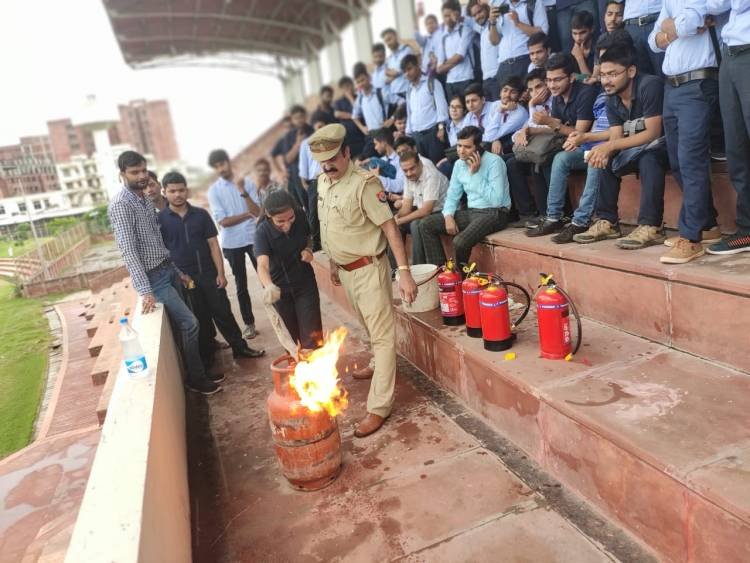 Mock Drill on Fire & Safety