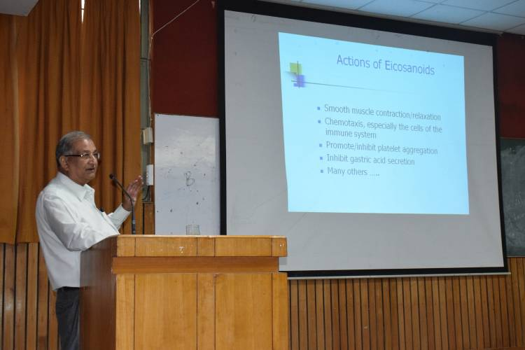 Guest lecture held  in Anand College of Pharmacy