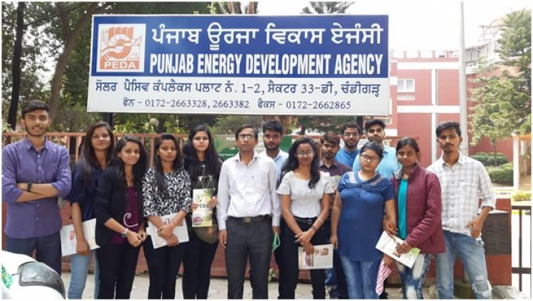 Industrial Visit to Punjab Energy Development Agency