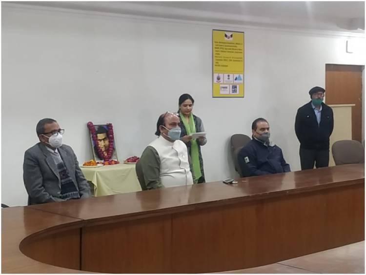 Mathematics day celebration remembering Dr. Ramanujan
