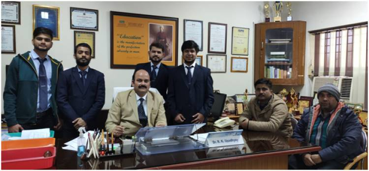 Student of Hindustan College selected in Commvault Systems