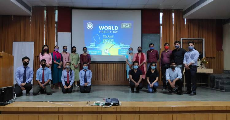 World Health Day Celebration At Anand College of Pharmacy